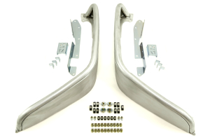 Poison Spyder Extra Wide Front Crusher Flares Aluminum Bare ( Part Number: 17-03-032-ALUM)