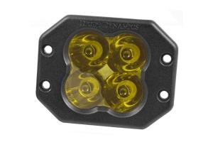 Diode Dynamics SS3 Pro Flush Mount LED Pod - Yellow Spot