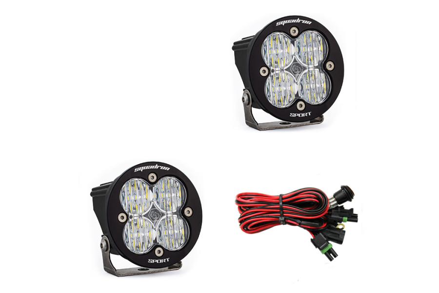 Baja Designs Squadron-R Sport Wide Cornering LED Lights, Pair