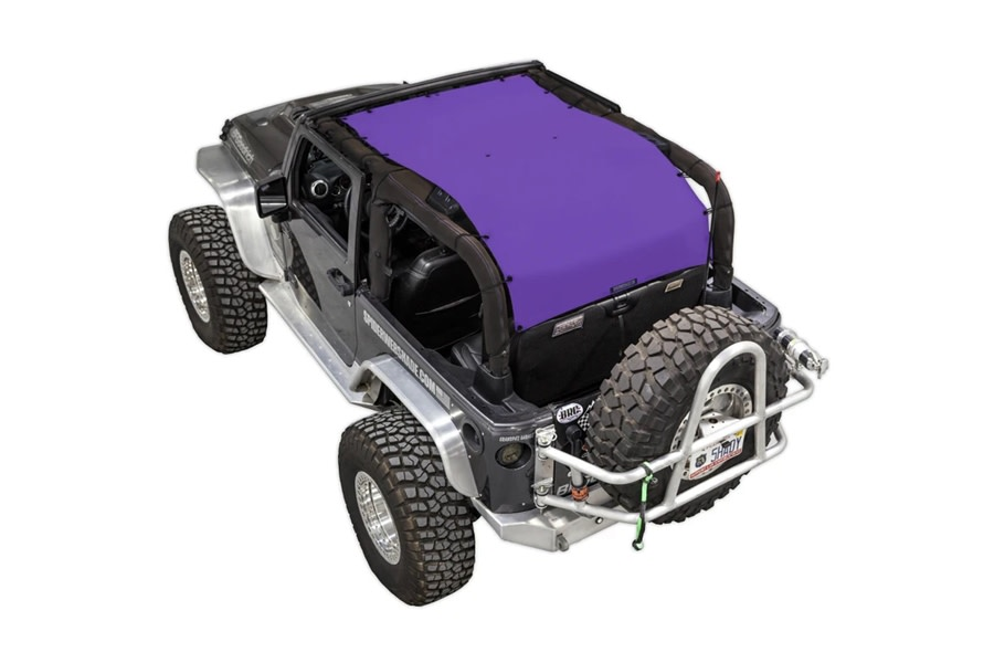 SpiderWebShade Long Shade Top - Purple - JK 2Dr