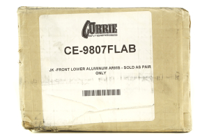 Currie Enterprises Front Lower Aluminum Control Arms w/Johnny Joints (Part Number: )