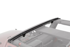 Bestop Header Style Windshield Channel Black - JK