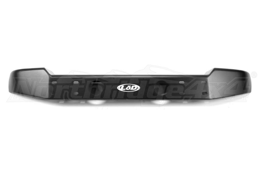 LOD Armor Lite Mid Width Front Bumper Black PC - JK