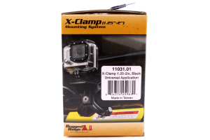 Rugged Ridge X-Clamp Black