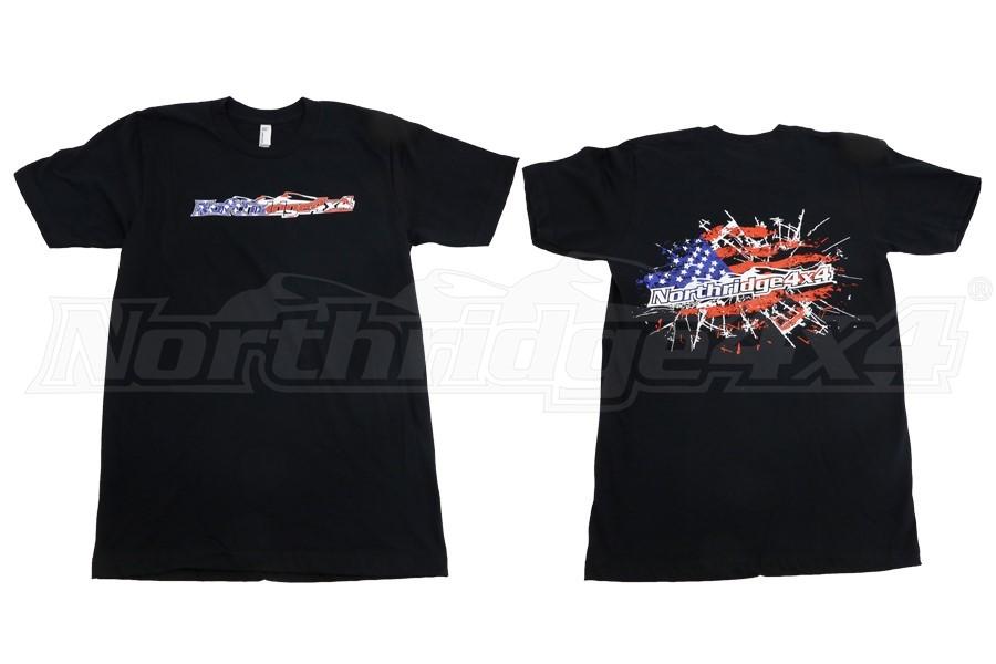 Northridge4x4 Flag T-Shirt (Part Number:NR4X4-TSHIRT-FLAG)