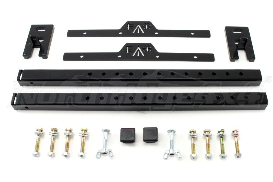 EVO Manufacturing Quick Release Mud-Flap kit (Part Number:1118B)