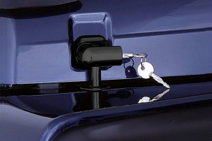 Smittybilt Locking Hood Catch Kit Black (Part Number: )