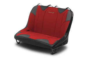 MasterCraft Rubicon Dirtsport Bench Seat w/o Headrests Black / Red (Part Number: )