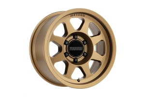 Method Race Wheels MR701 Centerbore Bronze Wheel 17x8.5 8x6.5 (Part Number: )