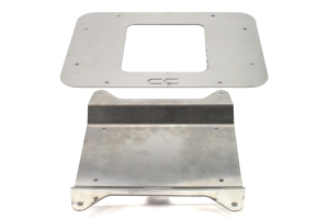 Crawler Conceptz Vent Cover w/License Plate Mount (Part Number: )
