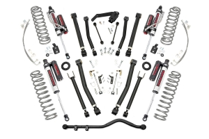 Rough Country X-Series 4in Suspension Lift Kit w/Vertex Shocks (Part Number: )