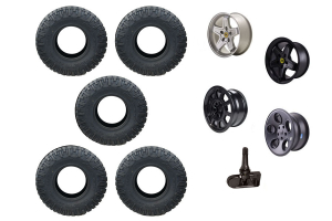 NITTO AND AEV TIRE AND WHEEL PACKAGE JK 2013+ (Part Number: )