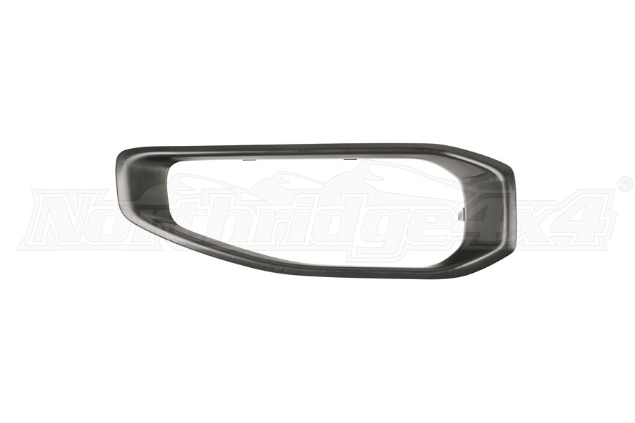 Rugged Ridge Front Bumper End Cap Applique - Passenger Side - JT/JL