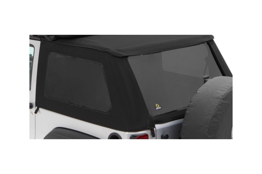 Bestop Trektop NX Tinted Window Kit Black Twill  - JK 2Dr
