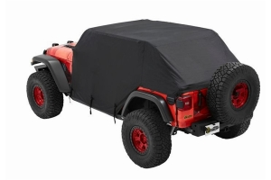 Bestop All-Weather Trail Cap Cover for Trek Top or No Top Installed - JL/JK 4Dr