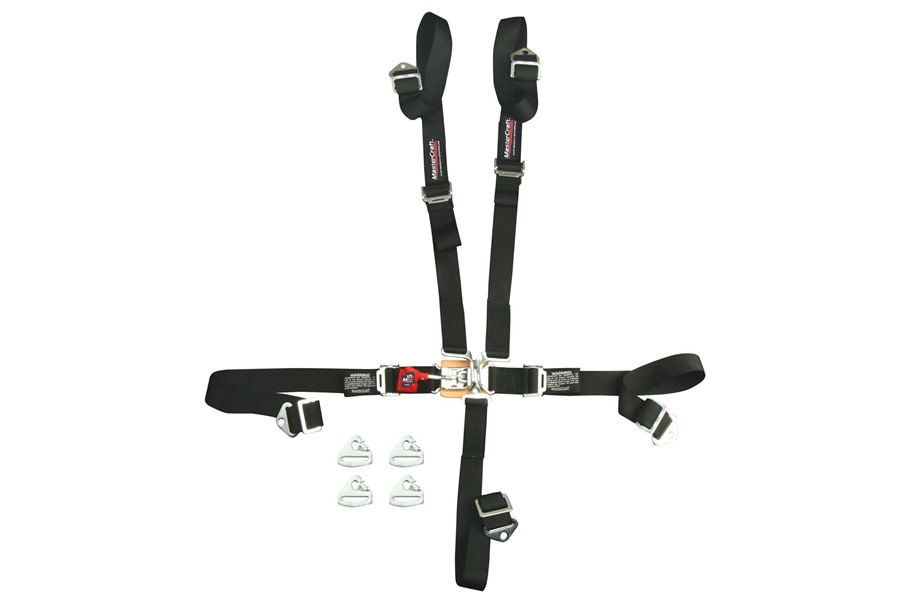 MasterCraft 5-Point SFI 16.1 Safety Seat Belt, Snap-In