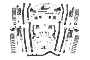 Rough Country 4in Long Arm Lift Kit w/ Vertex Shocks  - JK 2007-11 2Dr