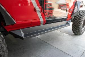 DV8 Plated Side Step/Slider  - JL 4Dr