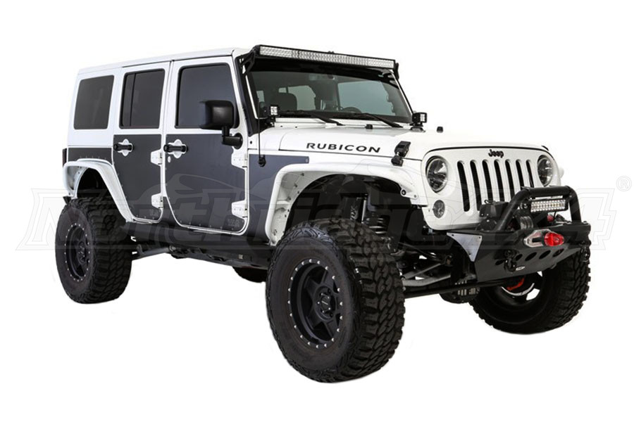 Jeep Wrangler Body Armor >> Jeep Jk 4dr Smittybilt Mag Armor Magnetic Side Protection Jeep