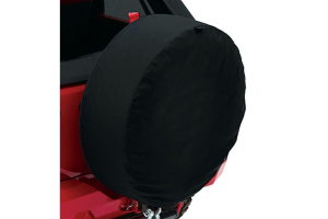 Bestop 33in Spare Tire Cover Black Twill  (Part Number: )