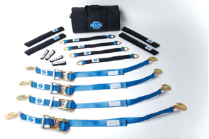 Mac's Pro Pack W/24in Axle Straps 8ft