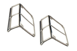 Smittybilt Stainless Steel Tail Light Guards (Part Number: )