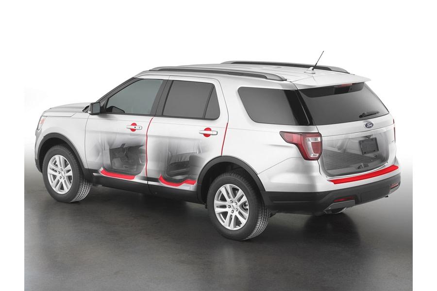 WeatherTech Scratch Protection Kit - Transparent  - Ford Bronco 4Dr