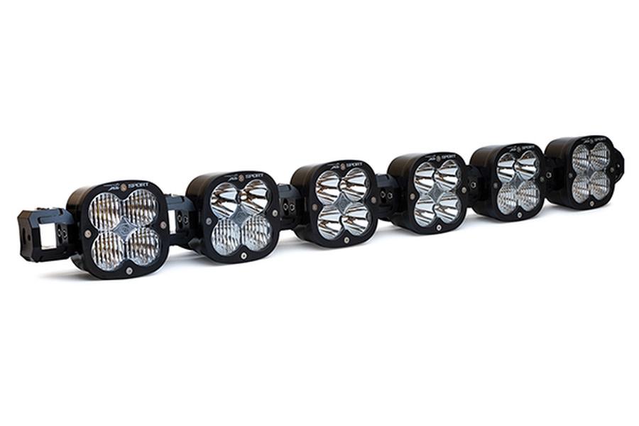 BAJA DESIGNS XL LINKABLE, 6 XL CLEAR LED LIGHT BAR