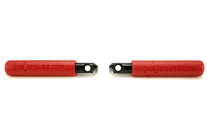 WD Automotive BootBars Red (Part Number: 1021R)