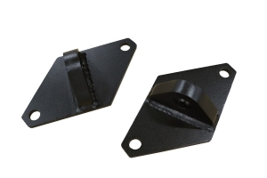 LOD Destroyer D-Ring Mounts, Pair - Bare Steel - JT