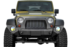 Rock-Slide Engineering Aluminum Series Shorty Front Bumper With Bullbar