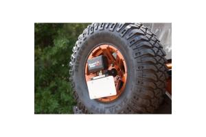Rugged Ridge Rear Spare Tire Light Mount  - JK