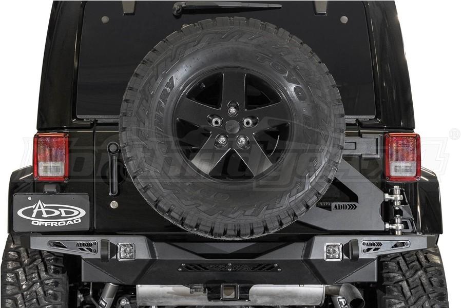 Addictive Desert Designs Stealth Fighter Tire Carrier - JK