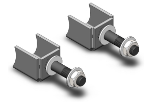 Clayton Lower Shock Mounts (Part Number: )