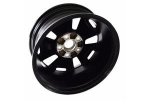 Mopar Rubicon Wheel - Gloss Black, Machined Accents, 17x7.5, 5x5 - JK