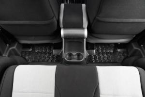 Rugged Ridge Floor Mats Rear Black - JK 4dr