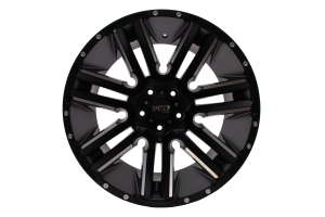 Moto Metal RAZOR Wheel 20x10 5x127 Satin Black (Part Number: )