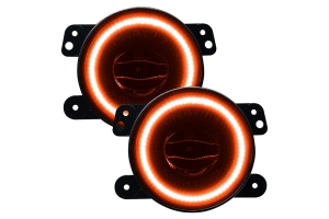 Oracle High Performance 20W LED Fog Lights - Amber - JT/JL/JK Sahara/Overland/Rubicon Models