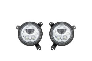 VSX 7in  LED Headlight Kit- Chrome - JL/JT