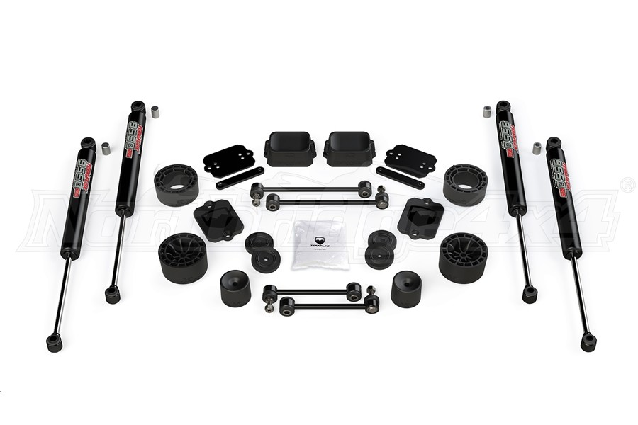 Teraflex 2.5in Performance Spacer Lift Kit w/ 9550 VSS Shocks (Part Number:1365350)