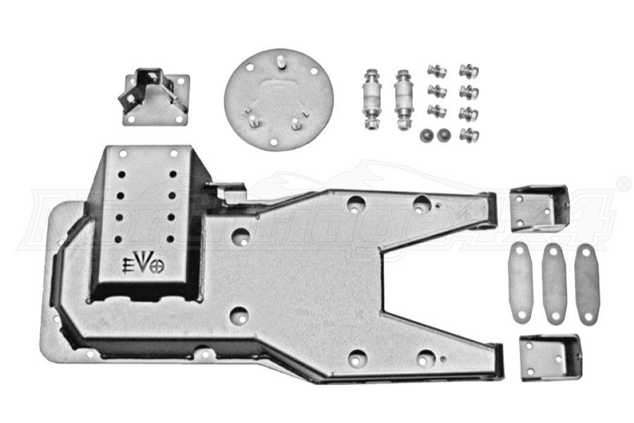 EVO Manufacturing Pro Series Hinged Gate Carrier, Raw - JK