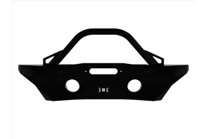 Icon Vehicle Dynamic Pro Series Mid-Width Recessed Winch Front Bumper w/ Bar  - JK