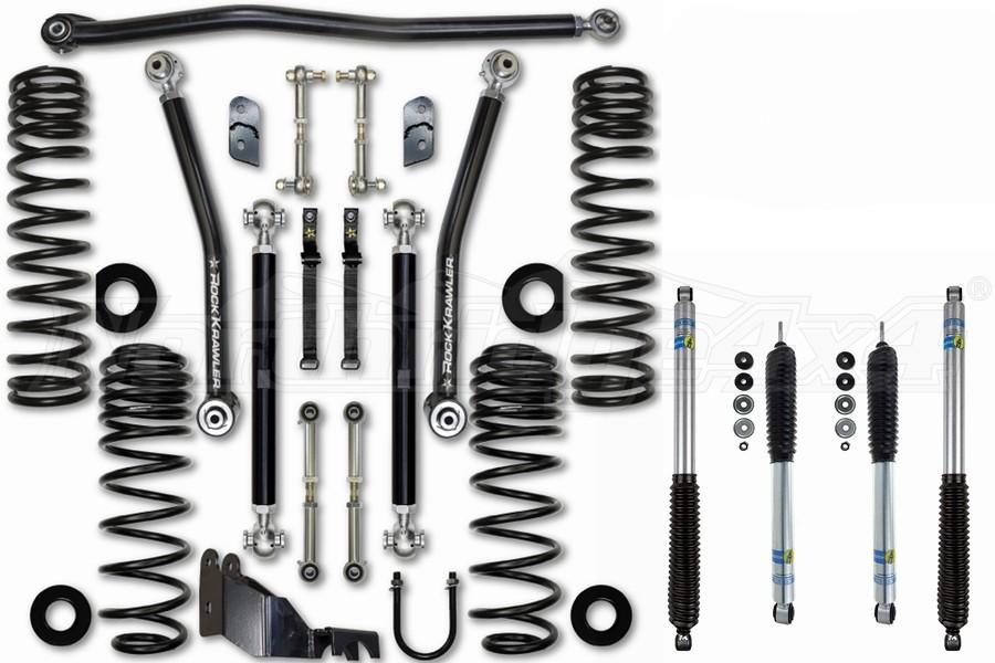 Rock Krawler 2.5in Max Travel Lift Kit - w/Shocks - JL 4dr