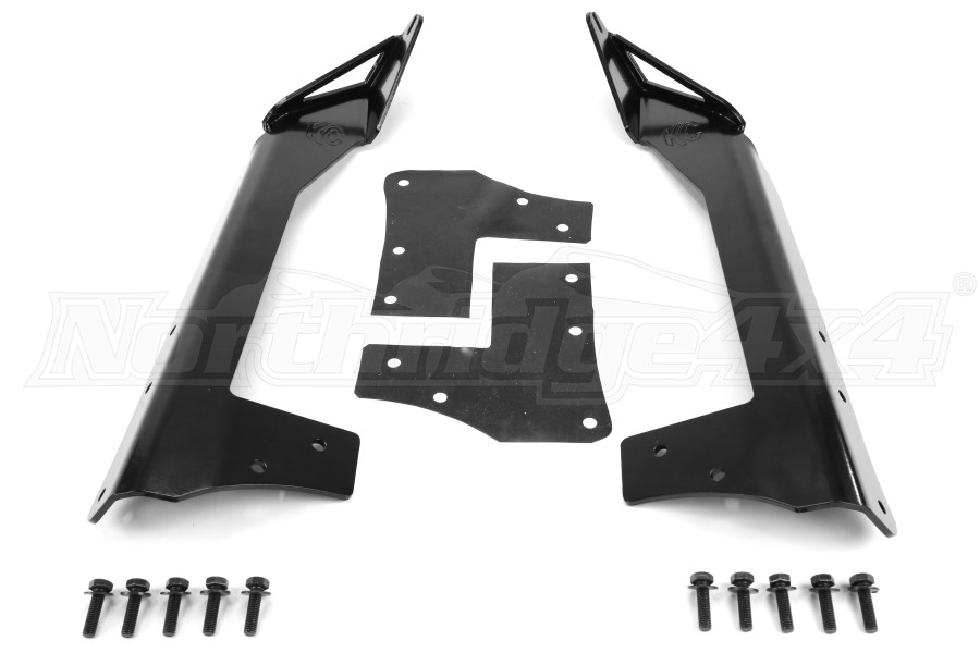 KC HiLiTES C-Series LED Light Bar and Overhead Mount Bracket Kit (Part Number:366)