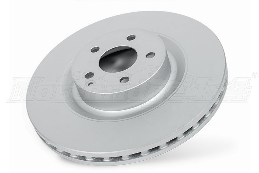 Power Stop Evolution Coated Rotor, Front - JK