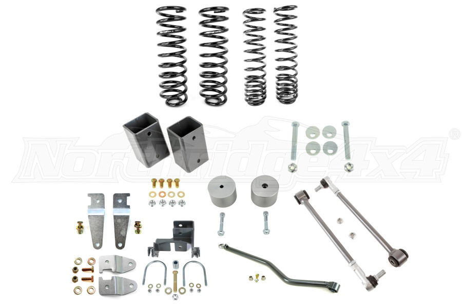 Synergy Manufacturing 2in Stage 1 Suspension Lift - JK 4DR (Part Number:8041-20)