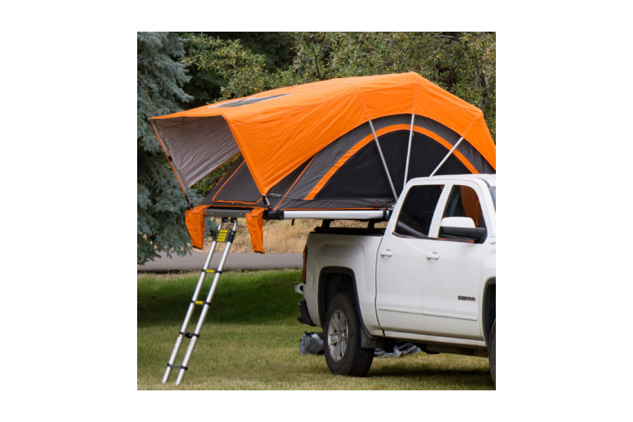 Freespirit Recreation High Country Series 80in Roof Top Tent, Grey/Orange (Part Number:RTHC80330)