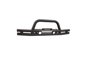 Rugged Ridge Double Tube Bumper w/Winch Mount (Part Number: )