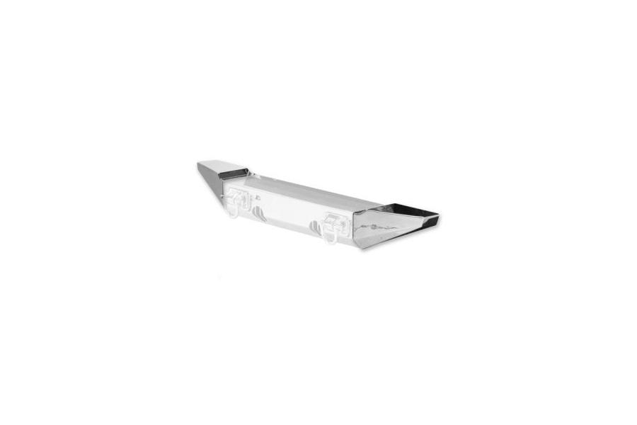 Rugged Ridge XHD Bumper Standard Stainless Steel Ends - JK