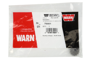 Warn Sun Gear 14 Tooth Replacement Winch Gear (Part Number: )